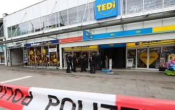 Amburgo attacco in un supermarket: un morto, arrestato l'aggressore