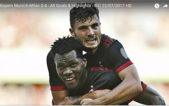 Bayern Monaco-Milan 0-4 video gol, highlights, sintesi: show rossonero, debuttano i nuovi (VIDEO)