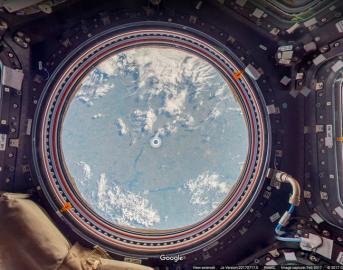 Google Street View ci porta sulla ISS: da oggi si potrà visitare la Stazione Spaziale Internazionale