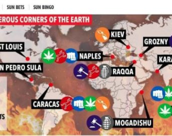 """Il Sun cita Napoli tra le città più pericolose del mondo, l'Ambasciata italiana risponde: """"Fake News"""""""
