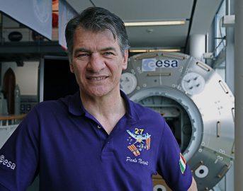 """Paolo Nespoli nello spazio per la terza volta: """"Voglio arrivare più in alto"""""""