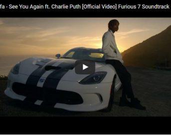"""Youtube, """"See you again"""" di Wiz Khalifa e Charlie Puth è il nuovo video con più visualizzazioni"""