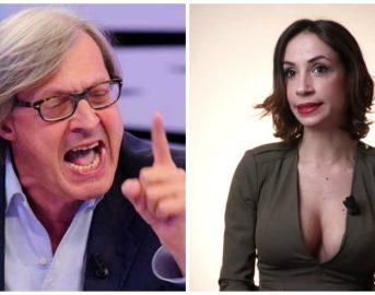 """Vittorio Sgarbi e Malena La Pugliese, notte di passione? """"Ho voluto prendermi gioco di voi"""" (VIDEO)"""
