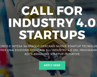 Industria 4.0: Cisco e Intesa SanPaolo cercano startup per la quarta rivoluzione industriale