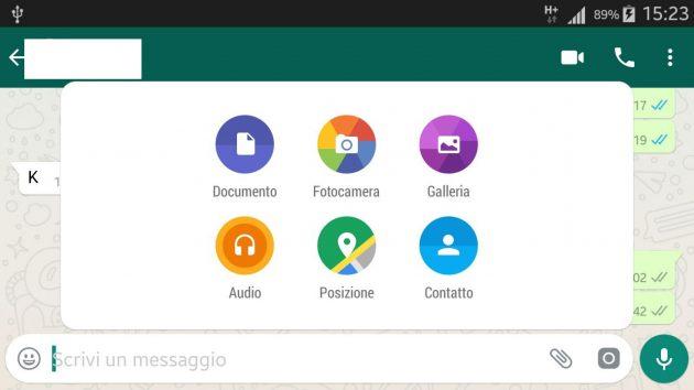 aggiornamento whatsapp android ios