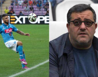Napoli calcio, la famiglia Insigne a cena con Raiola: cambio d'agente in vista?