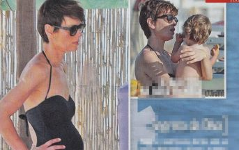 Claudia Pandolfi incinta, l'attrice in dolce attesa del terzo figlio (FOTO)
