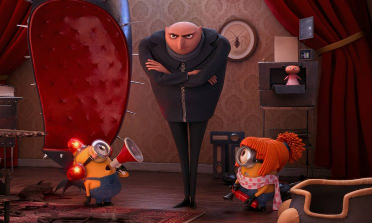 Despicable Me facebook
