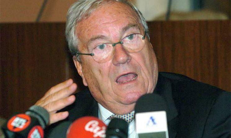 E' morto Guido Rossi: fu commissario FIGC dopo Calciopoli