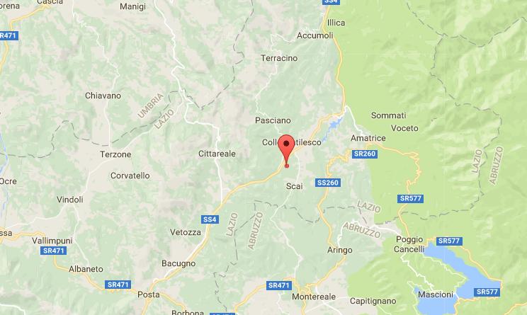 Scossa di terremoto a Bondeno nella notte