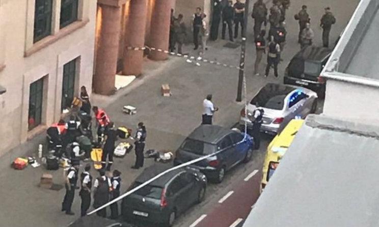 Con un coltello attacca due soldati a Bruxelles