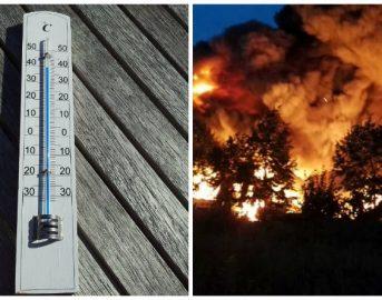 Caldo record in Italia, un'altra giornata pesantissima: imperversano gli incendi