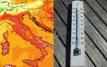 Caldo record in Italia, ecco quando finirà: previsioni meteo per i prossimi giorni