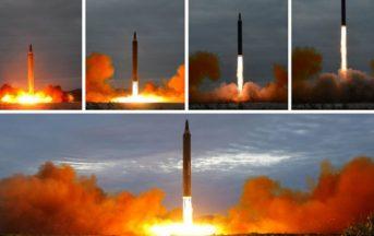 """Crisi Corea del Nord-Usa, «Unica opzione il dialogo» ma Pyongyang è pronta a colpire """"lontano"""""""