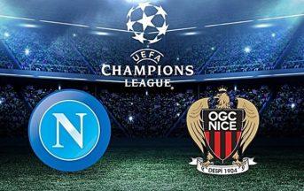 Diretta Napoli – Nizza streaming gratis e probabili formazioni: dove vedere il preliminare di Champions League