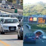 Autostrade in tempo reale: traffico, incidenti, chiusure oggi lunedì 17 settembre 2018