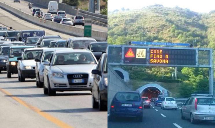 Esodo d'agosto. Code in autostrada. Ieri camion ribaltato a Modena Nord