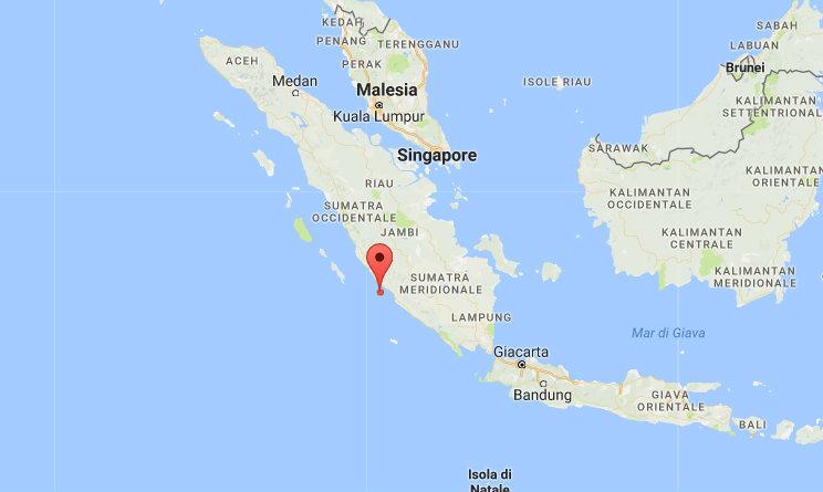 terremoto oggi indonesia