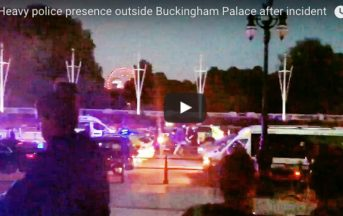 Londra, uomo armato a Buckingham Palace: arrestato [VIDEO]