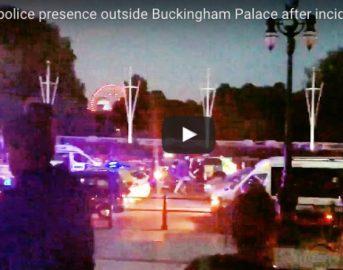 Londra, uomo armato a Buckingham Palace: arrestato [VIDEO]