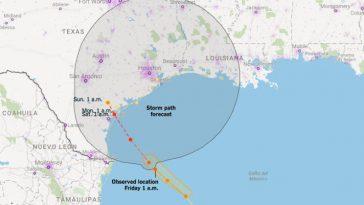 uragano harvey stati uniti texas