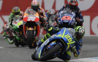 MotoGp Silverstone, warm up: Iannone primo, Marquez secondo, paura per Folger