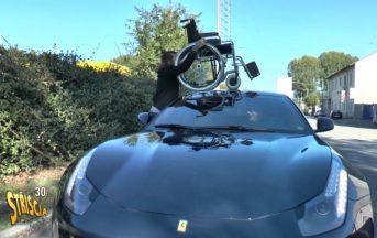 Striscia La Notizia, intercettato il proprietario della Ferrari incriminato di aver aggredito il padre di un bimbo disabile (FOTO)