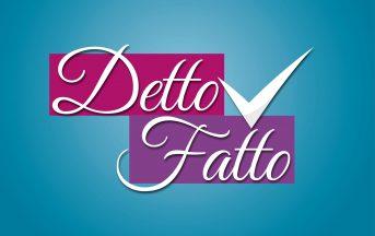 Detto Fatto anticipazioni settimanali 20 -24 novembre: ospite Elena Santarelli