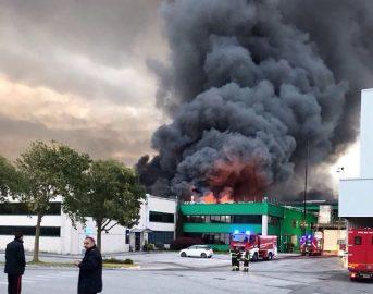 Incendio Roncadin news: a fuoco colosso mondiale pizze surgelate