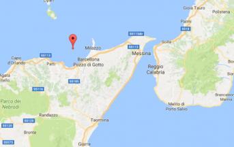 Terremoto oggi a Messina: scossa magnitudo 3.3 in mare
