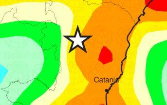 Terremoto oggi Catania: scossa magnitudo 3.3 vicino a Bronte