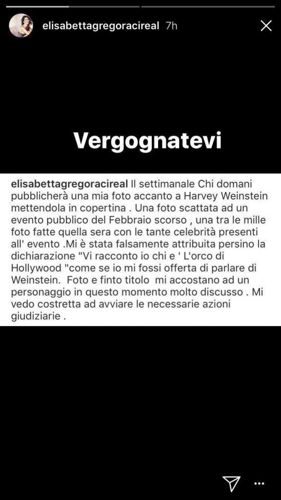 Elisabetta Gregoraci contro Chi
