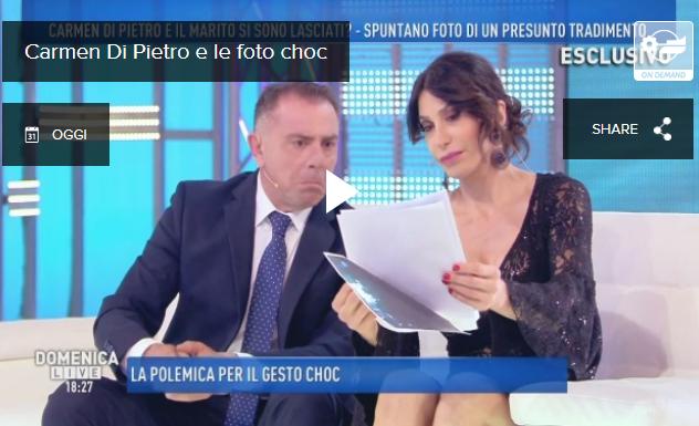 Carmen di pietro scoppio seno aereo english tv channel 4 - 4 2