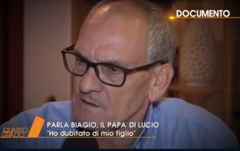 """Omicidio Noemi, padre di Lucio a Quarto Grado: """"Nostri figli vittime dei grandi"""""""