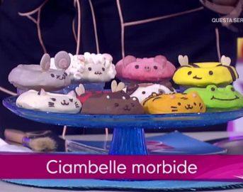 Detto Fatto ricette dolci di oggi 10 ottobre 2017: Giulia Vaiana e le ciambelle morbide