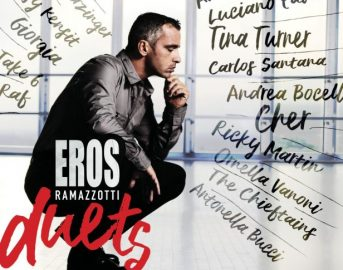 """Eros Ramazzotti nuovo album 2017: esce """"Eros Duets"""", data e collaborazioni (FOTO)"""