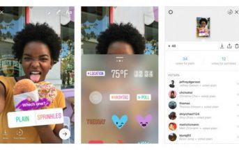 Aggiornamento Instagram Stories: influencer con i nuovi sondaggi (FOTO)