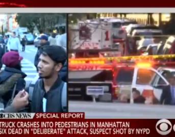 Manhattan veicolo su pista ciclabile, spari contro i passanti: ci sono morti e feriti (VIDEO)