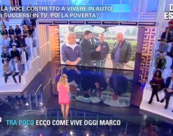 Marco Della Noce a Pomeriggio 5: l'ex comico di Zelig racconta la sua storia a Barbara d'Urso (VIDEO)