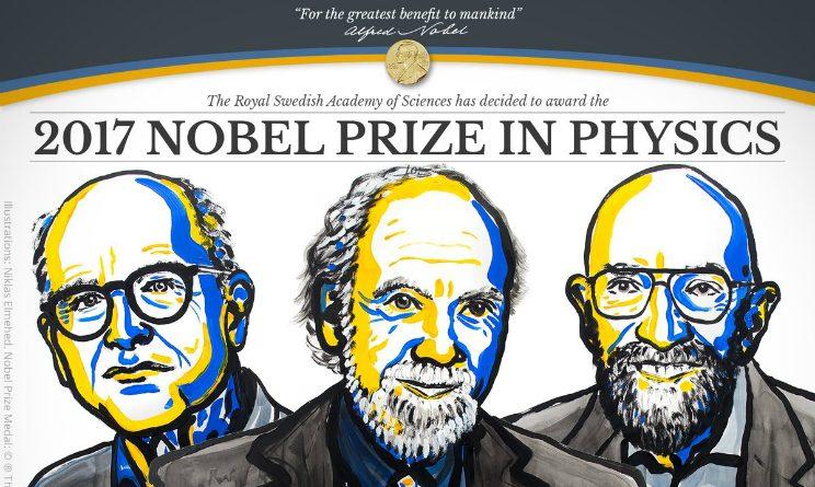 Nobel per la Fisica 2017: per la scoperta delle onde gravitazionali vincono Kip Thorne, Ray Weiss e Barry Barish