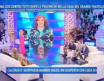 Paolo Brosio a Domenica Live fa infuriare Barbara d'Urso: bagarre in studio