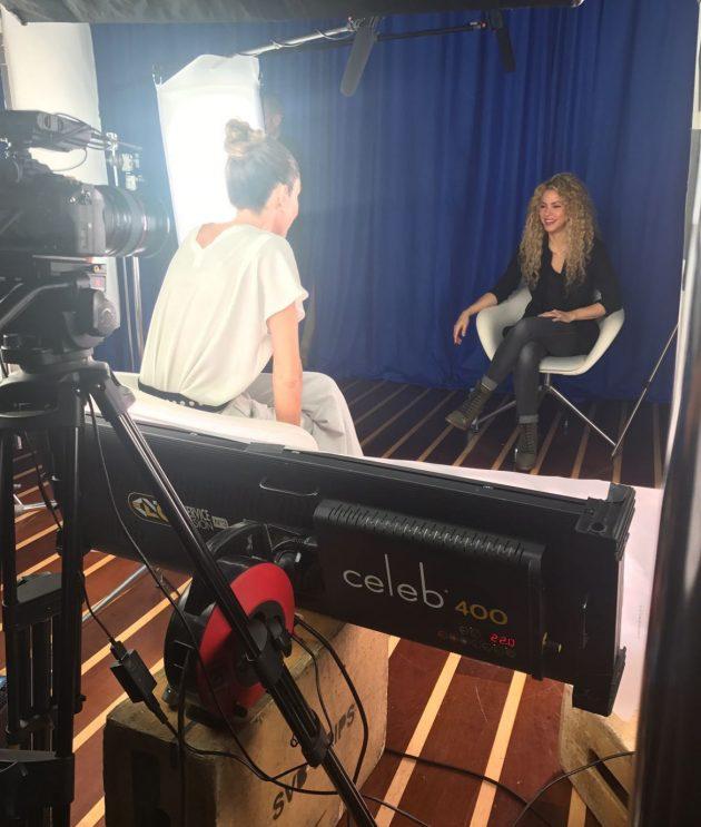 Shakira a Verissimo