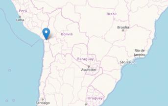 Terremoto oggi in Cile: scossa magnitudo 6.3 a sud di Putre