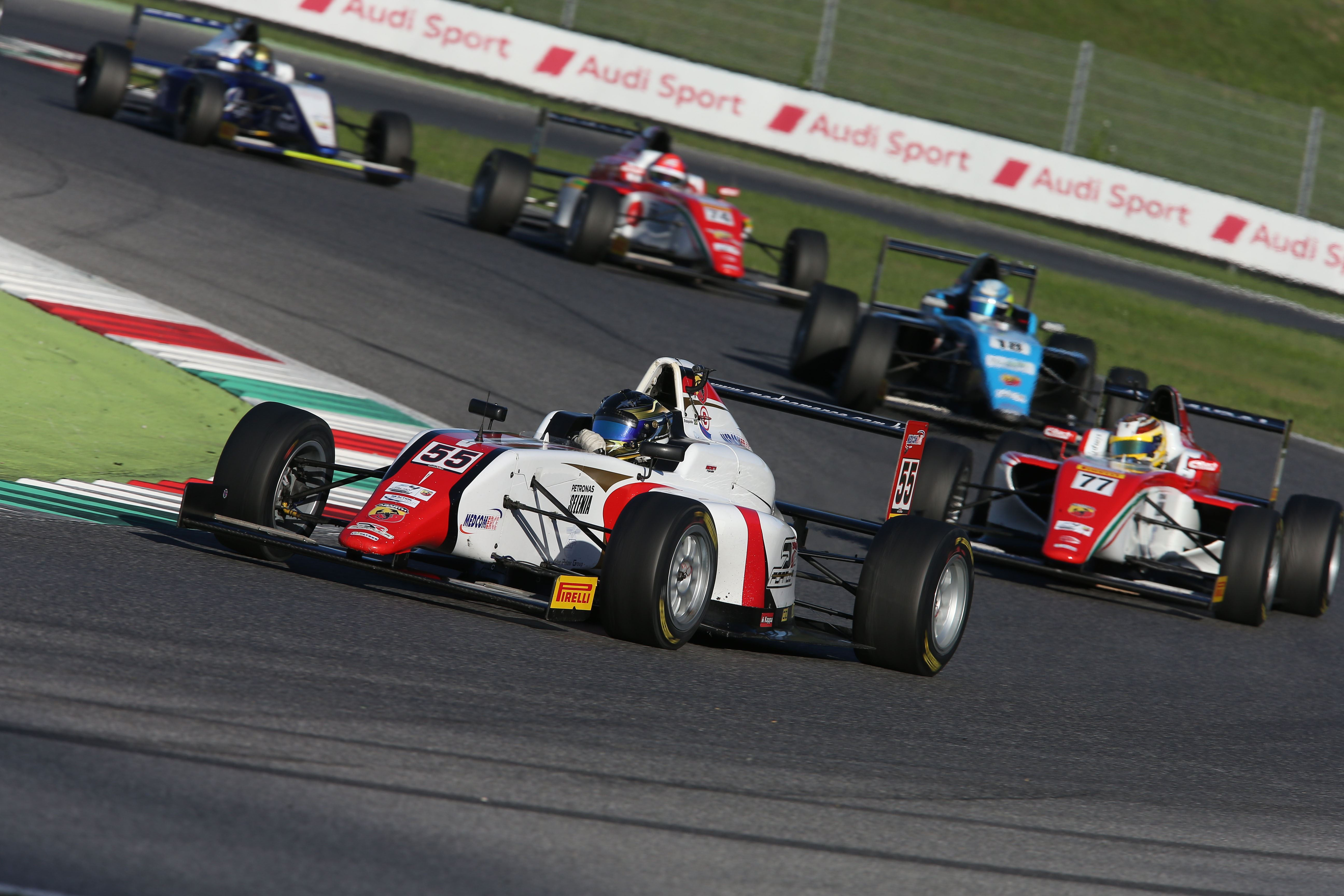 Aci racing weekend Formula4