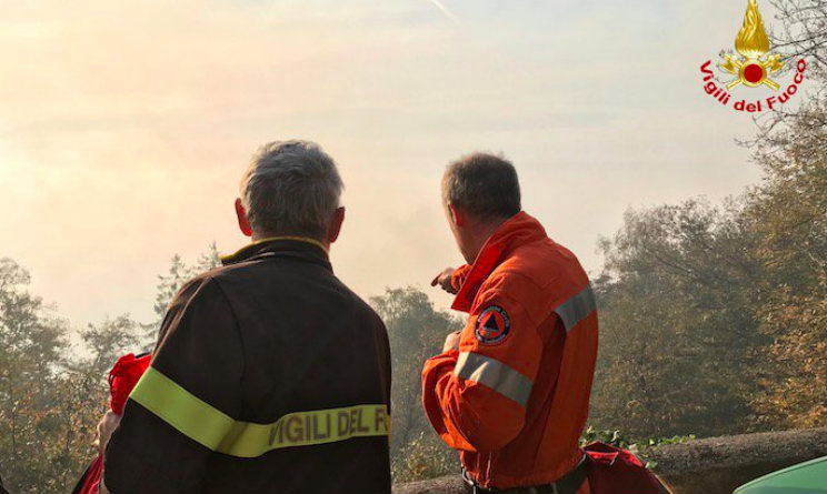 Emergenza incendi: bruciati 1600 ettari di terreno in Piemonte