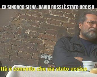 Morte David Rossi news Le Iene: è stato omicidio? Clamorose dichiarazioni dell'ex sindaco di Siena