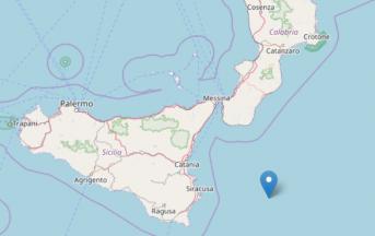 Terremoto oggi nel mar Ionio: scossa magnitudo 3.5 al largo della Sicilia orientale