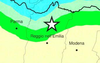 Terremoto oggi Reggio Emilia: scossa magnitudo 2.4 vicino a Novellara