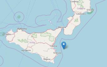Terremoto in Sicilia: scossa magnitudo 3 al largo di Siracusa