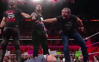 WWE Raw, lo Shield è tornato: Braun Strowman e The Miz ne fanno le spese [FOTO]